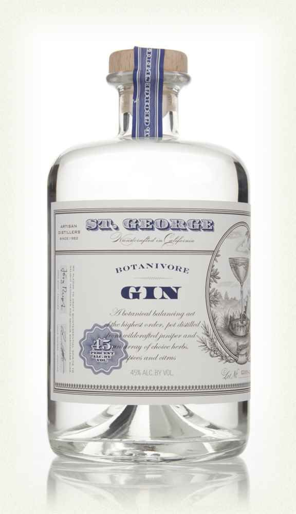 St. George Botanivore Gin 8/10 Fragrant & woodsy