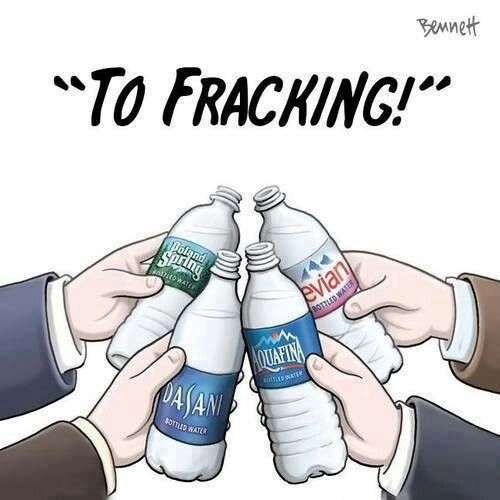 say no to hydaulic fracking Say no 2 fracking hydraulic fracturing, or fracking, is a process that uses chemical enhanced water to force natural gas out of the ground natural gas is a very efficient resource, commonly used for heating, as it releases less carbon dioxide than oil or coal.