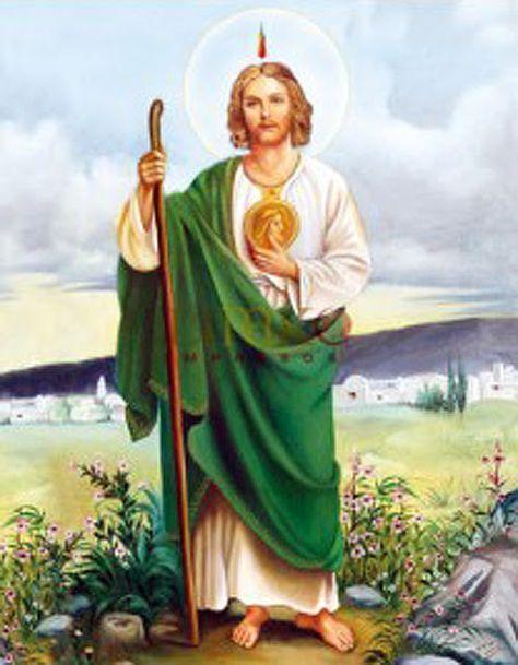 May be found faithful: Novena a San Judas Tadeo