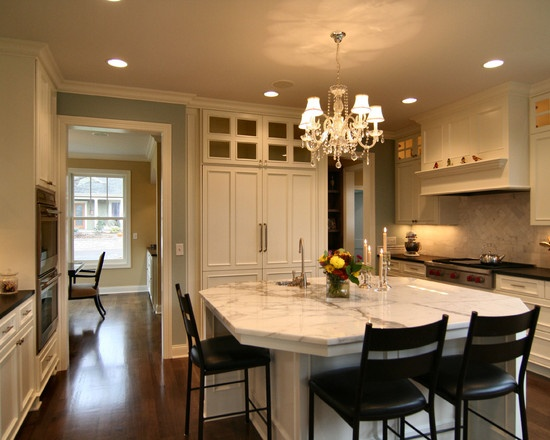 Traditional Kitchen Undermount White Sinks Design Pictures Remodel Decor And Ideas