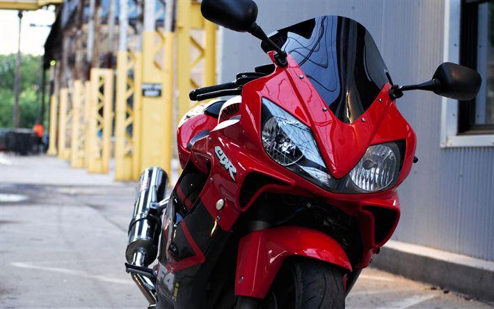 Descargar fondos de pantalla 4k, Honda CBR600RR, motos deportivas, de calle, japonés de motocicletas, Honda