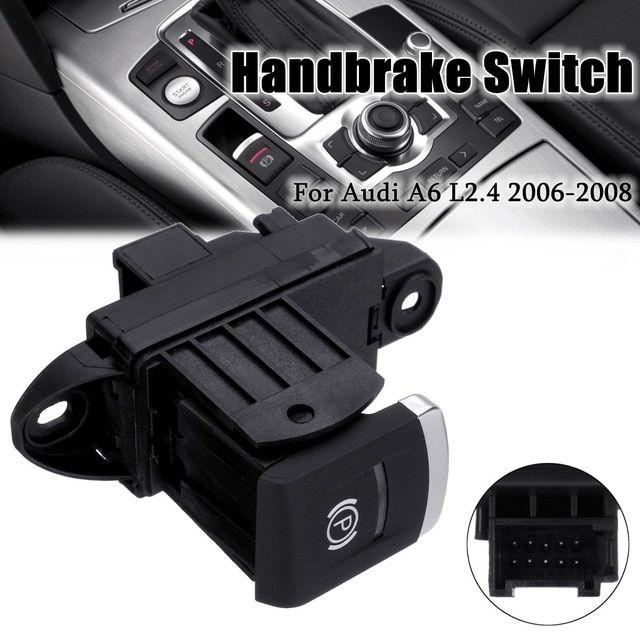 10 Pins Car Parking Brake Handbrake Stop Button Switch