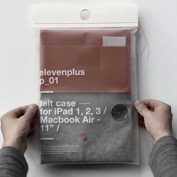 11+ Felt Case - iPad/Macbook Air 11""