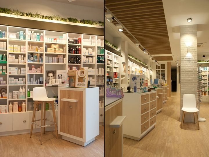 Cristina Tiemblo Pharmacy by SUBE, Leioa – Spain » Retail Design Blog