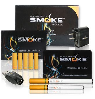 South Beach Smoke is a smokeless cigarette that contains ZERO tobacco, ZERO smoke and ZERO combustion. It is the healthier alternative to smoking traditional cigarettes. The South Beach Smoke e-cigarette is battery-powered and has 10 different flavored cartridges with 4 different nicotine strengths, catering to all tastes. www.southbeachsmoke.com