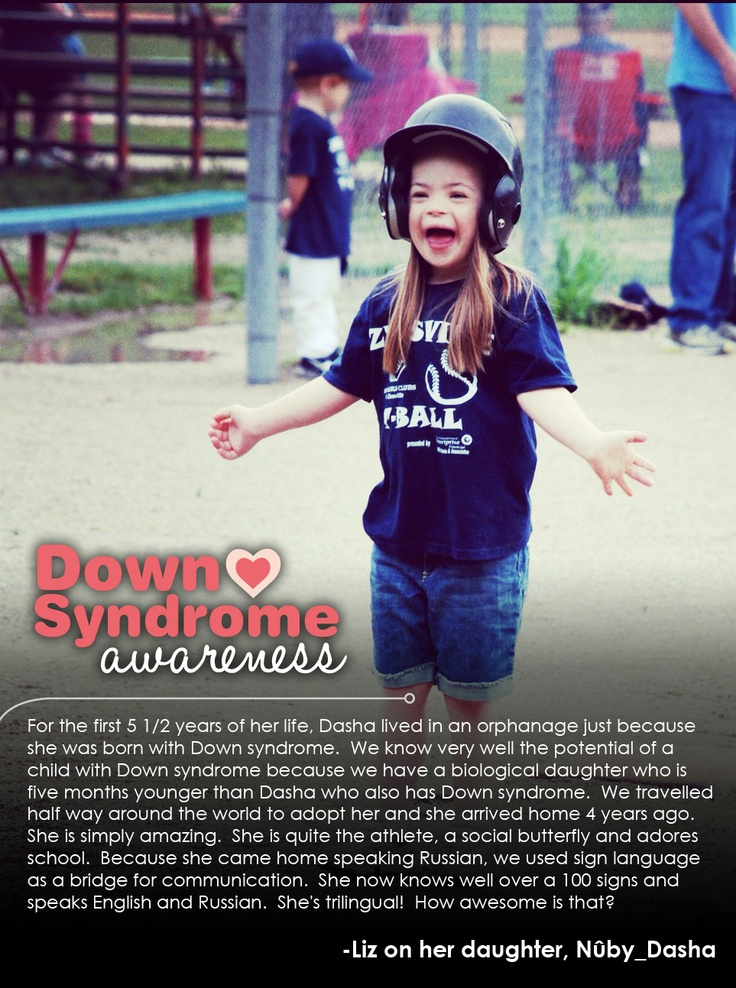 Dasha; Peace, Love & Down Syndrome @National Down Syndrome Society