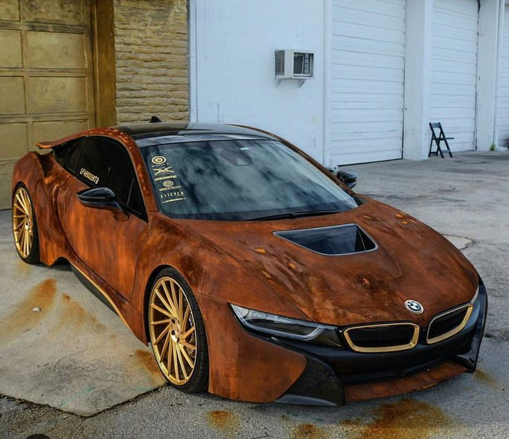 Pin by Alan Dickinson on rusty paint jobs Bmw i8