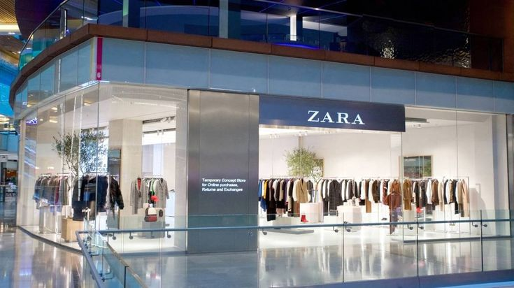 Could this be the Zara Shop of the Future?