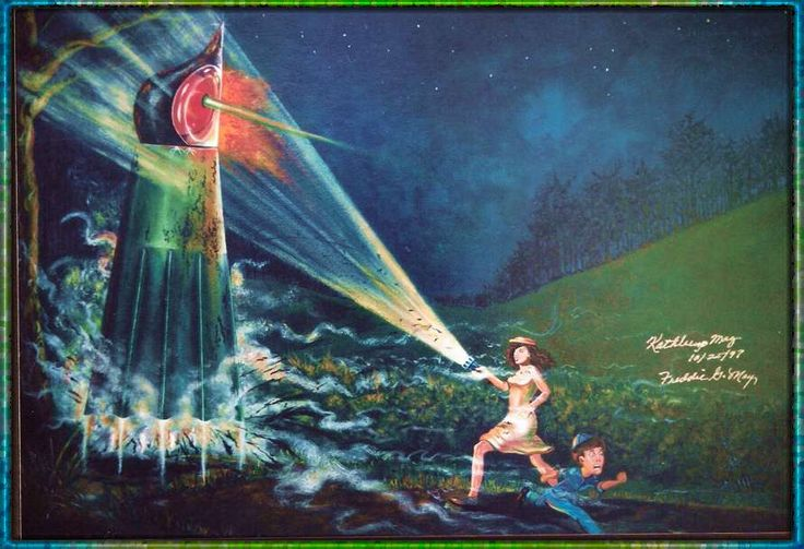 OVNI Hoje!Espaço do Leitor: Conheça o caso do Monstro de Flatwoods » OVNI Hoje!