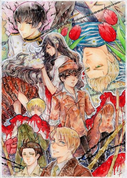 Entry by KoNan03 via Zerochan. This features Indonesia and the countries that influenced her history.