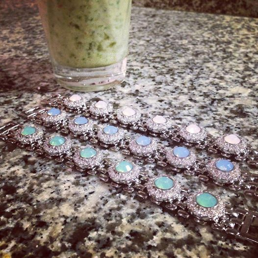 Lolu Rhoda stacker bracelets. www.lolurhoda.com