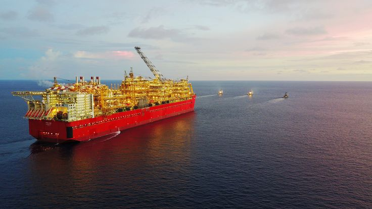 Prelude FLNG, the Biggest Offshore Structure Ever Built, Arrives in Australia