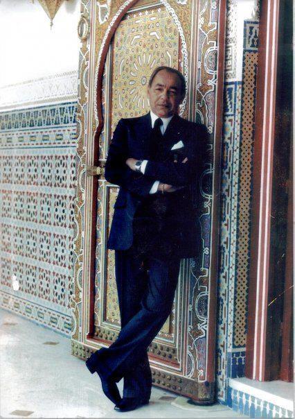 S.M HASSAN II Mémorable roi du Maroc.