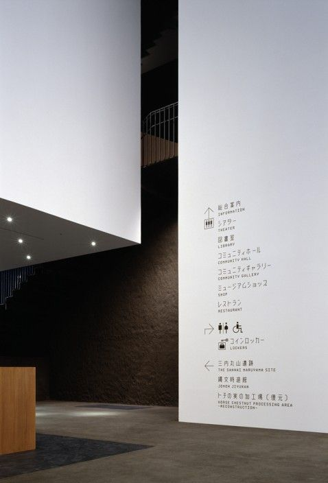 Simple, universal icons  {AOKI JUN Environmental Graphics}