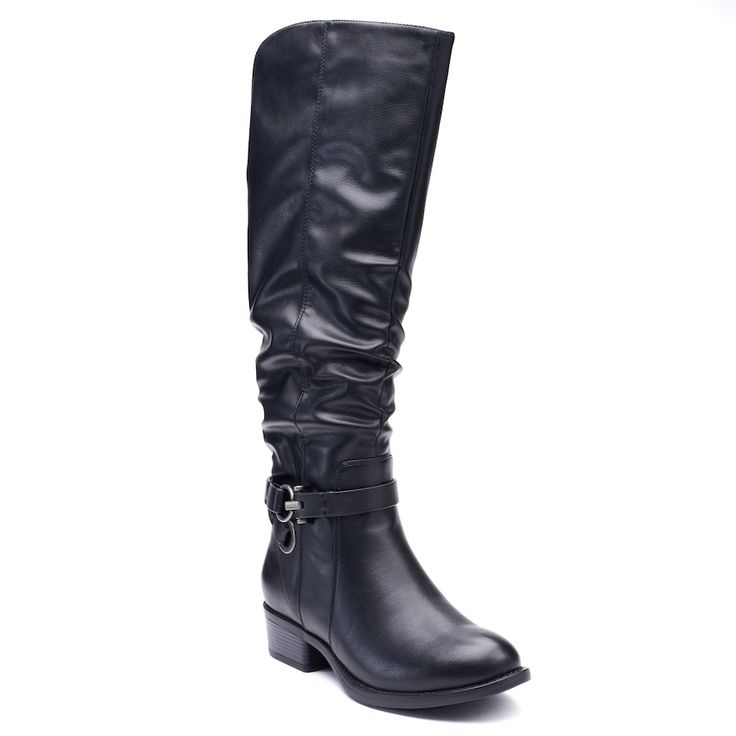 Apt. 9® Doctor Women's Knee High Boots, Size: 7.5 M Xwc, Oxford