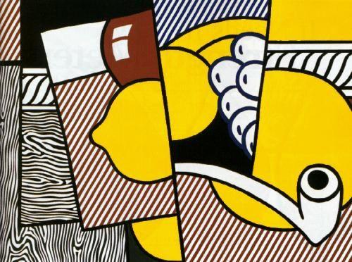 Cubist Still Life (1974, Roy Lichtenstein)