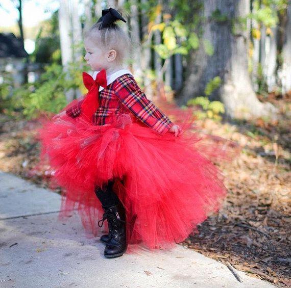 Toddler Tutu Skirt Girls Hi Low By EllieNSophiaBoutique