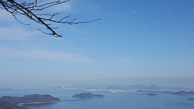国立公園 紫雲出山(しうんでやま)桜の名所です。 香川県,三豊市 Mt.Shiunde at Kagawa Japan. You can see beautiful SAKURA in spring!