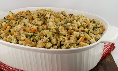 Herbed Bread Stuffing | A Foodie Affair | Pinterest