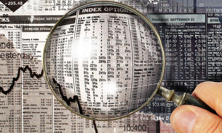 Financial research stock-market. Image shot 2001. Exact date unknown.