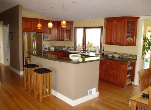 Pictures of mobile home renovations home mobile for Kitchen design remodel