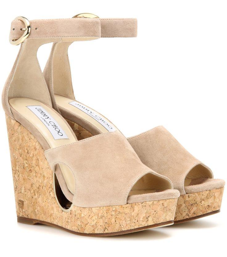 nice Wedge-sandalen Neyo 120 Aus Veloursleder http://portal-deluxe.com/produkt/wedge-sandalen-neyo-120-aus-veloursleder/  270.00