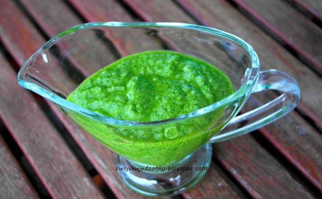 Swojskie jedzonko: Pesto z rukoli-pyszny dodatek do makaronu i sałatek