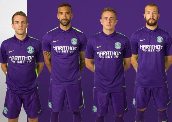 Hibernian FC Away Kit 2015/16