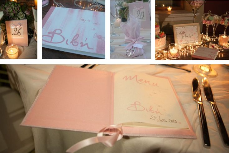 Chirography for your guestbook, menu