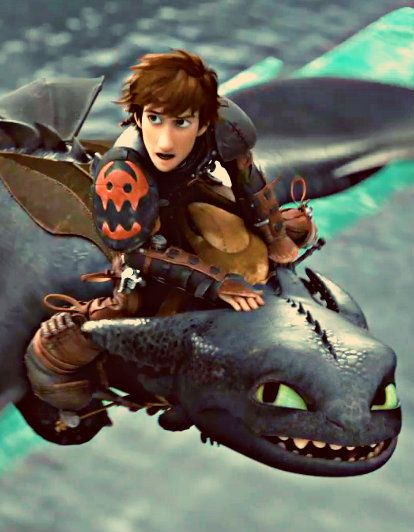 toothless in how to train your dragon 2
