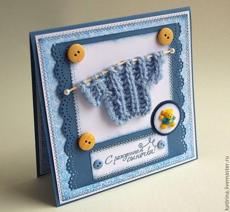 Рукодельные открытки с днем рождения, открытки стену
