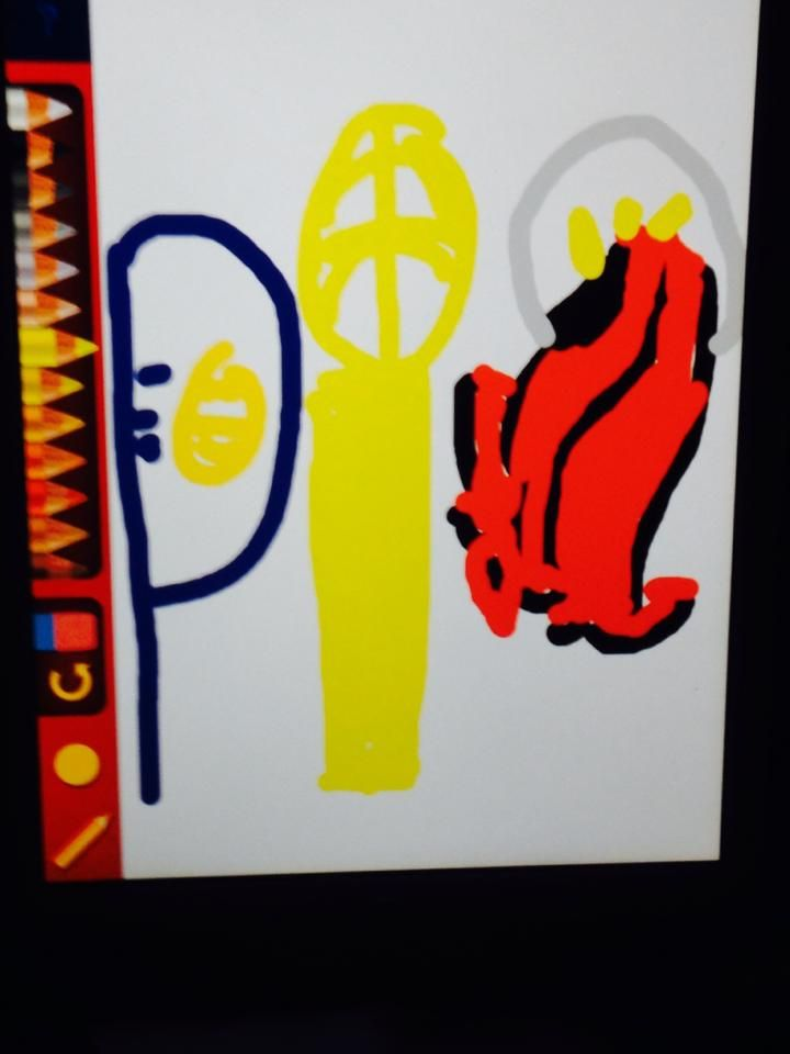 Pacers vs Heat ! Made by 5yr old Anthony Armas from Florida!