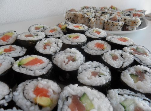 sushi healthy food healthy recipes gezonde recepten chicks love food maki roll