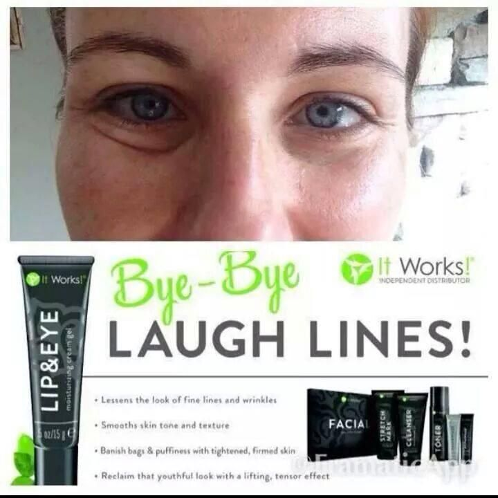 Skin - Lip and Eye Lift and our NEW Exfoliating Peel - your have to try to believe It Works! http://lesaitworksbodywraps.com/