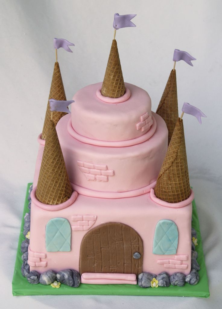 1000 Ideas About Easy Castle Cake On Pinterest Cakes Princess Cakes And