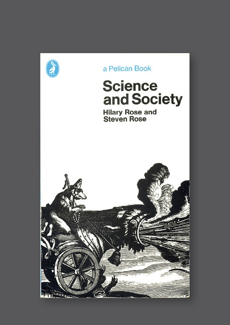 Pelican A1273 – Science and Society [1975] Cover design by Germano Faccetti
