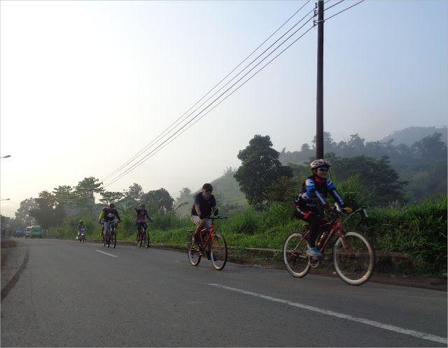 Aktifitas Bersepeda: Bersepeda RAHONG, Pangalengan Bandung