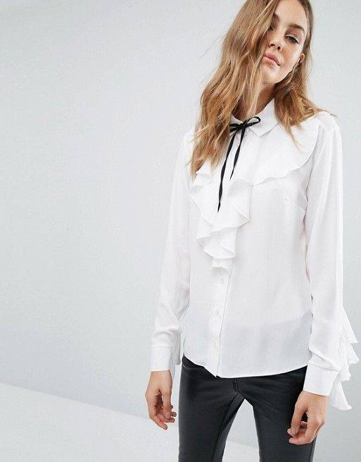 Wardrobe Essentials: 12 Not So Basic White Tops
