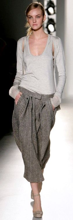 Calvin Klein....Who Else? Love his style..outlet at St. Aug. FLA, has CK store. I have this sweater duo