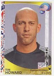 Tim Howard of the USA. 2016 Copa America card.