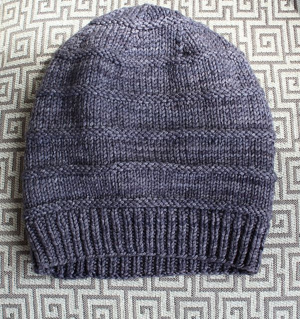 Ravelry: The Favorite Knit Slouchy Hat pattern by Jamie Sande