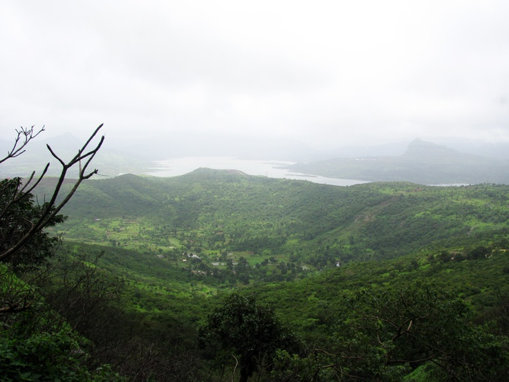 Nature view from Visapur Fort - India