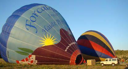 Vol montgolfière Lubéron
