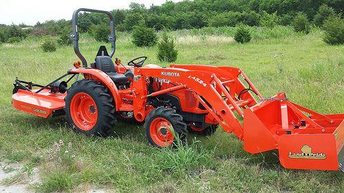 Used Kubota L3800 Tractor