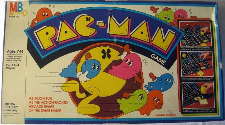 80 S Milton Bradley Toys : Milton bradley pac man game vintage games
