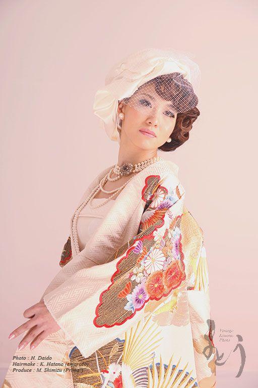 """""""Japonisme""""  Model : M. Onose, Photo : H. Daido, Hairmake : K. Hatano (amoroso), Produce : M. Shimizu (Prima!)"""