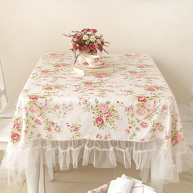 White Romance Ruffled Tablecloth – Isabelle Larson