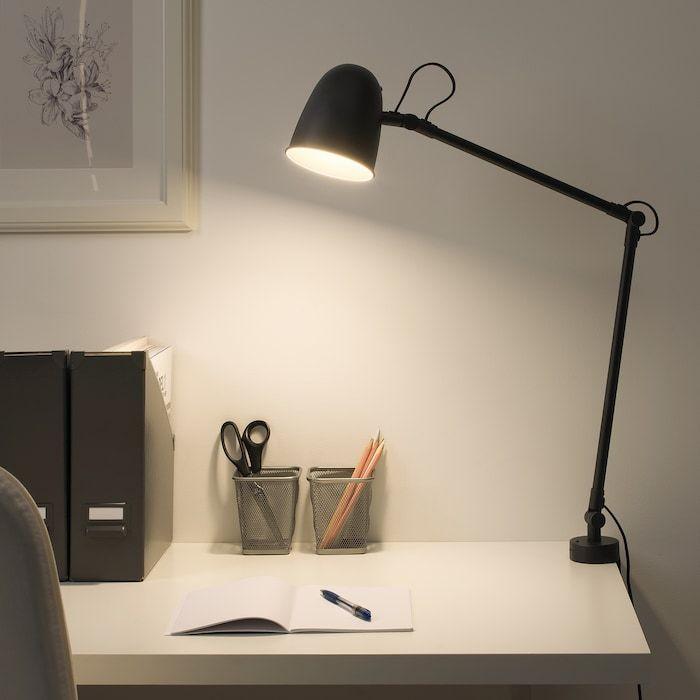 Skurup Tyo Seinavalaisin Musta Ikea In 2020 Study Lamps Wall Lamp Black Wall Lamps