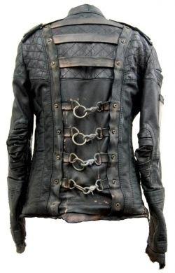 | Post-apocalyptic Avant-Garde Fashion | #fashion #leather #jacket #clothing