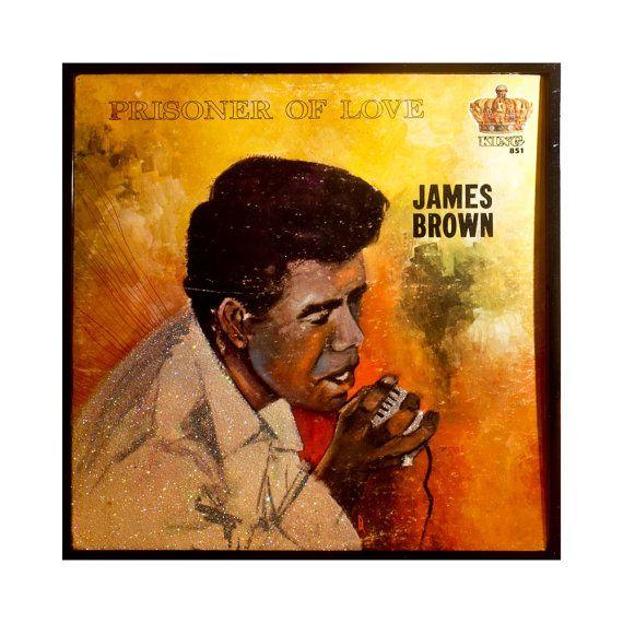 Glittered James Brown Prisoner of Love Album